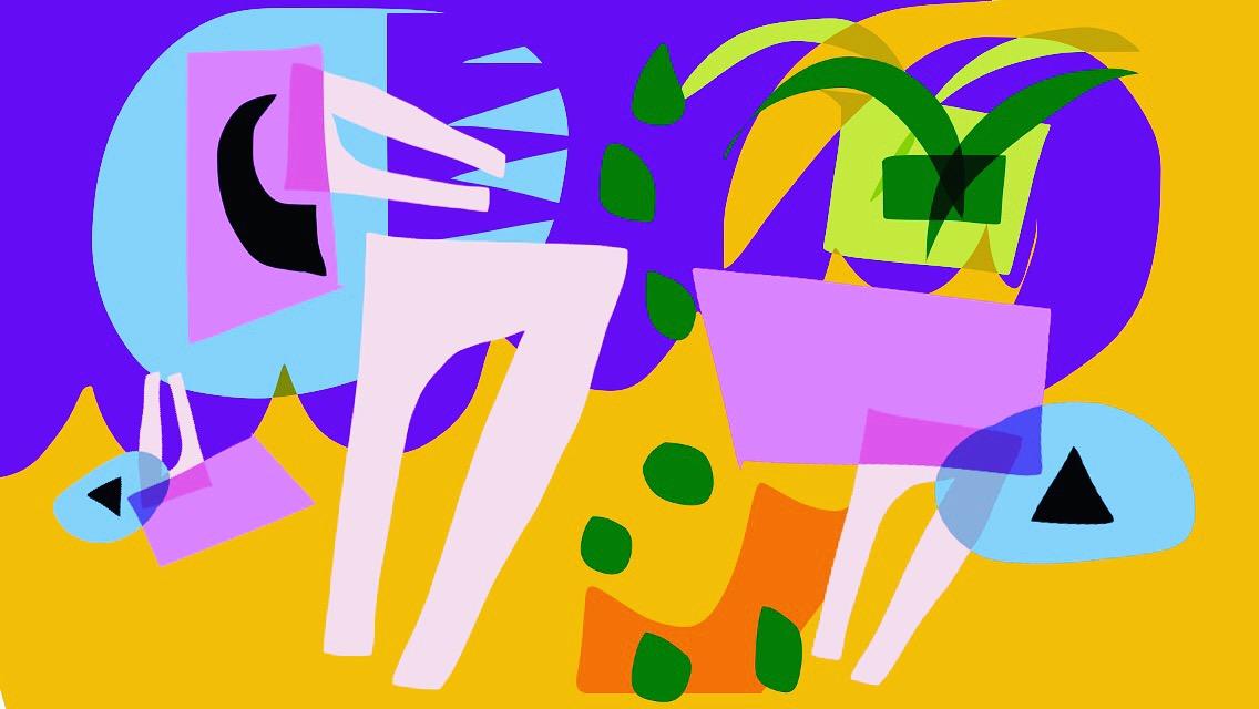 We Were Seeds,  une oeuvre numérique réalisée par l'artiste Jose Palacios