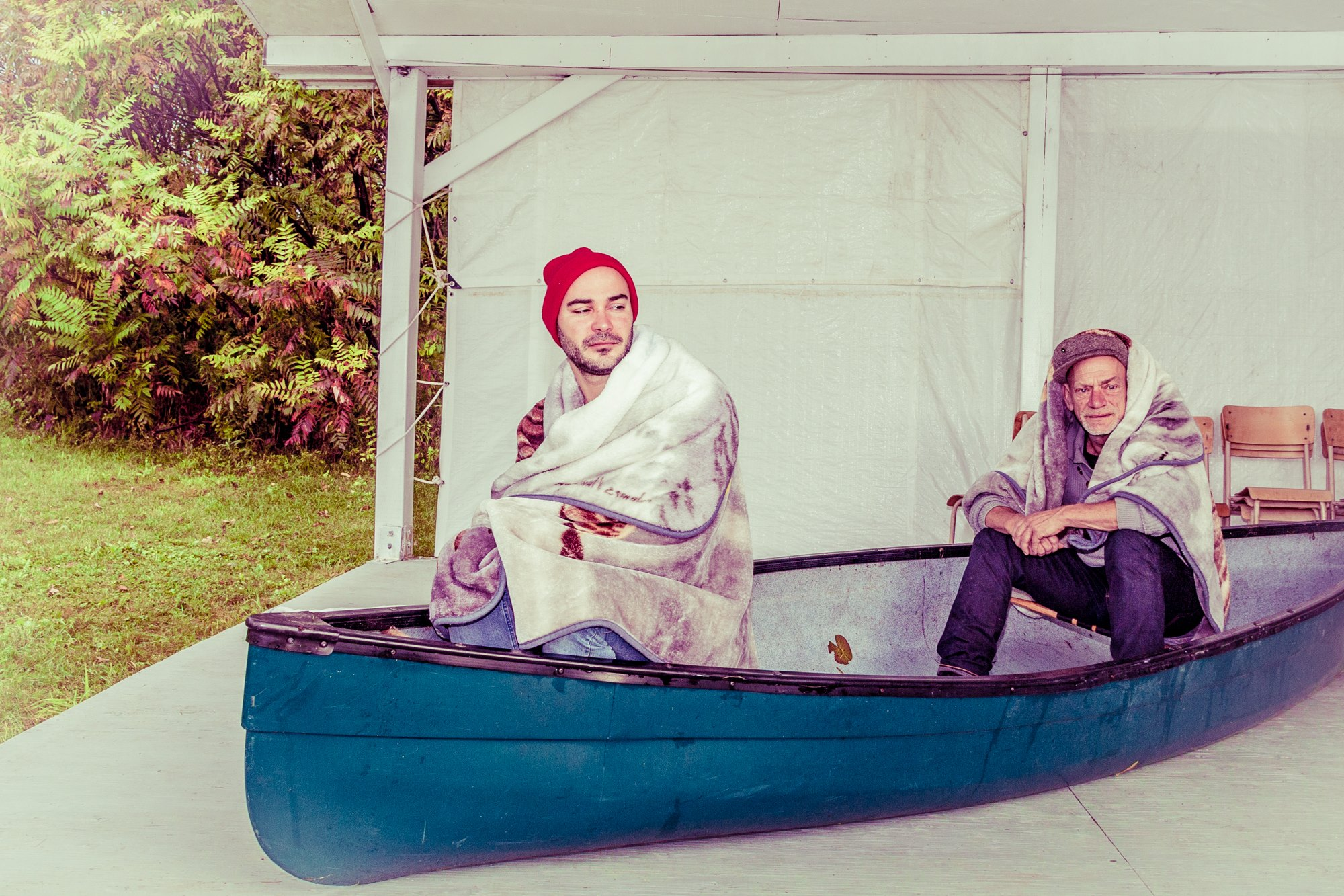 Photo promotionnelle du spectacle  Windigo  de Laura Kramer. Photo : Stefan Petersen