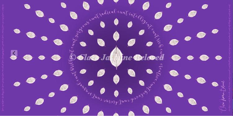 Beloved C*nt (Purple)