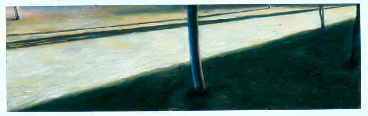 Composition in Green: Dusk, 1987