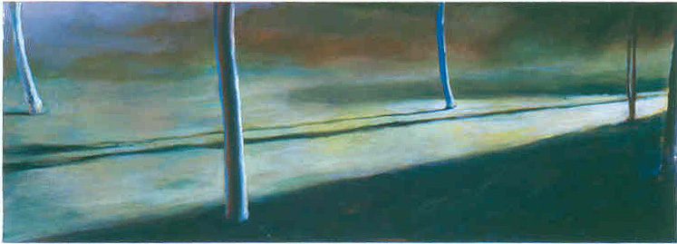 Composition in Green #2, 1987