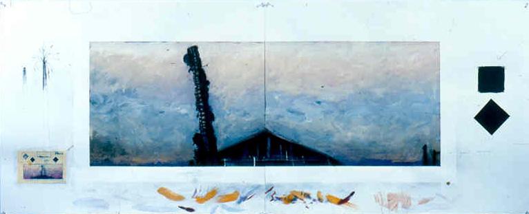 Study for Zephyr II, 1989