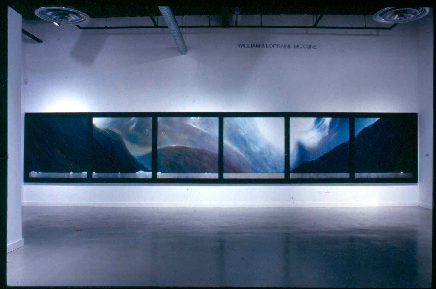 Portage, installation view