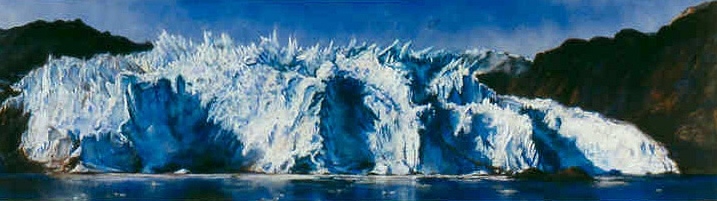 Holgate Glacier: Kenai Fjords National Park, 2001