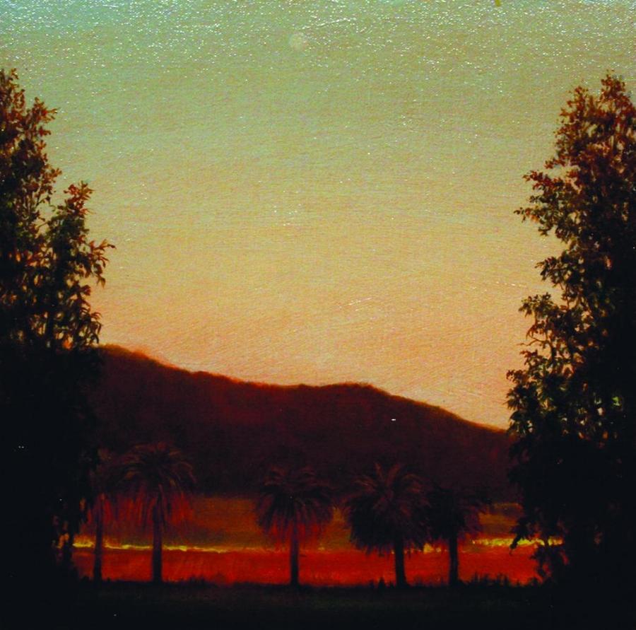Moonrise, Sonoma, 2007