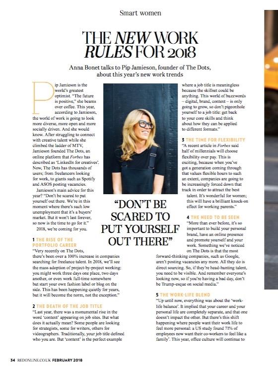 Red Magazine, February 2018