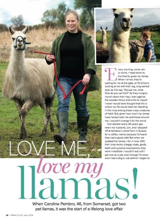 Prima Magazine, April 2018