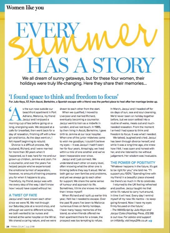Prima Magazine, July 2018