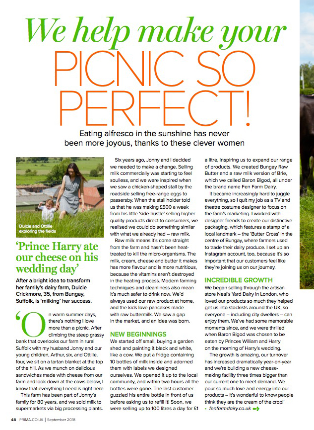 Prima Magazine, September 2018