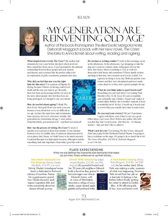 Red Magazine, August 2019