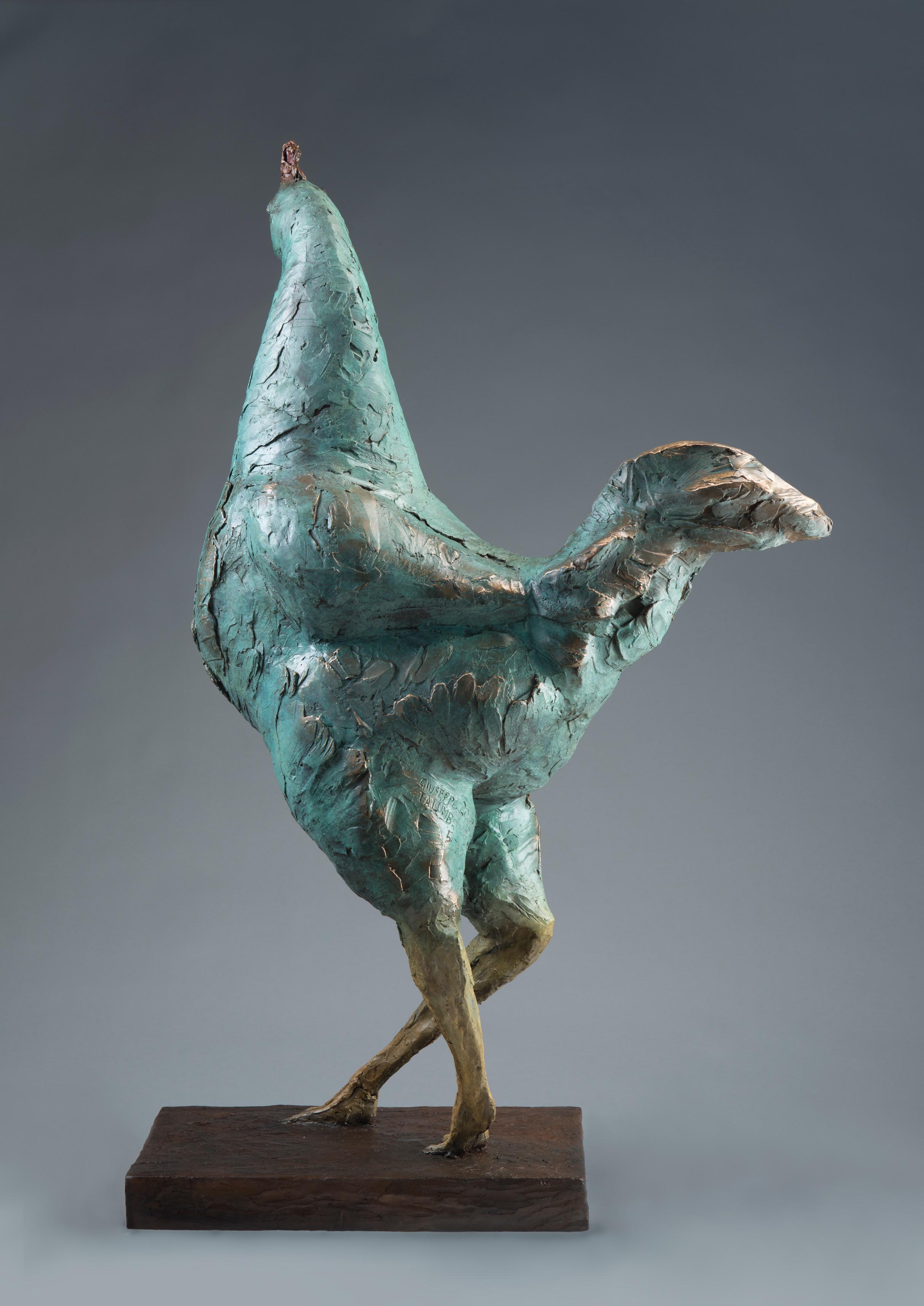 Bronze Statue Chicken