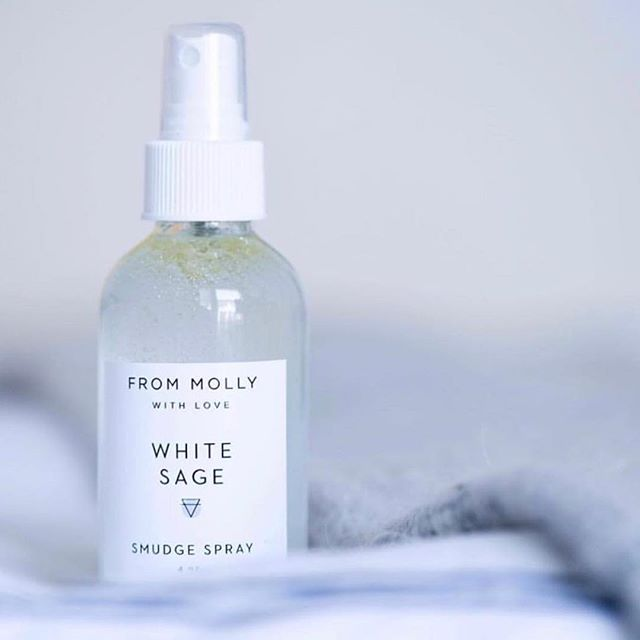 🌙Cleanse the energies is a must and so is this product. White Sage Smudge Spray! Head over to @frommollywithlove and check out her amazing products. ✨#spiritual #faith #summer #Yoga #namaste #grace #chill #frommollywithlove #sun #thirdeye #believe #sage #coexist #clothing #trust #peace #calm #mind #soul #chakras #chakra #freespirit #namaste #grateful #meditation #life #meditate #goodvibes #vibes #magical #igyoga
