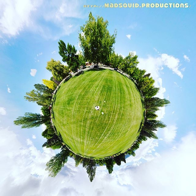 Sherwood Park #tinyplanet photo. #grandjunction #colorado http://madsquid.productions/
