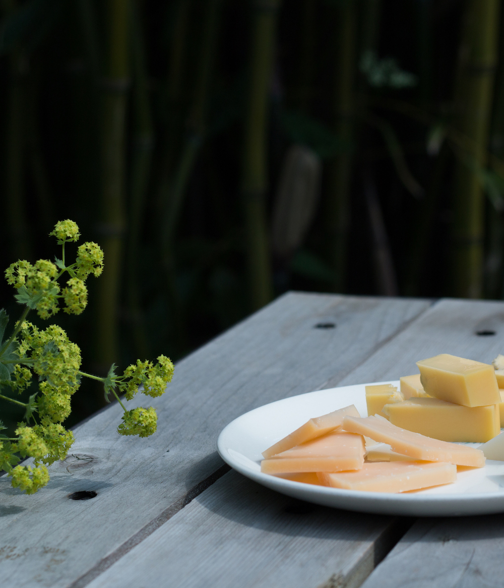 Artisan Cheeses at Slough Food Bistro & Gourmet Grocery, Edison, WA