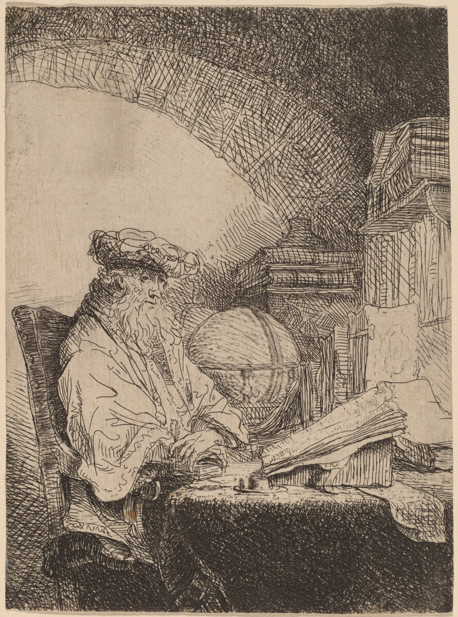 The Astrologer  by Ferdinand Bol (1616-1684), courtesy of the Rosenwald Collection, US National Gallery of Art