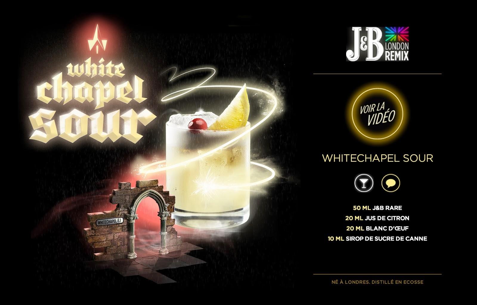 J&B WHITE CHAPEL SOUR