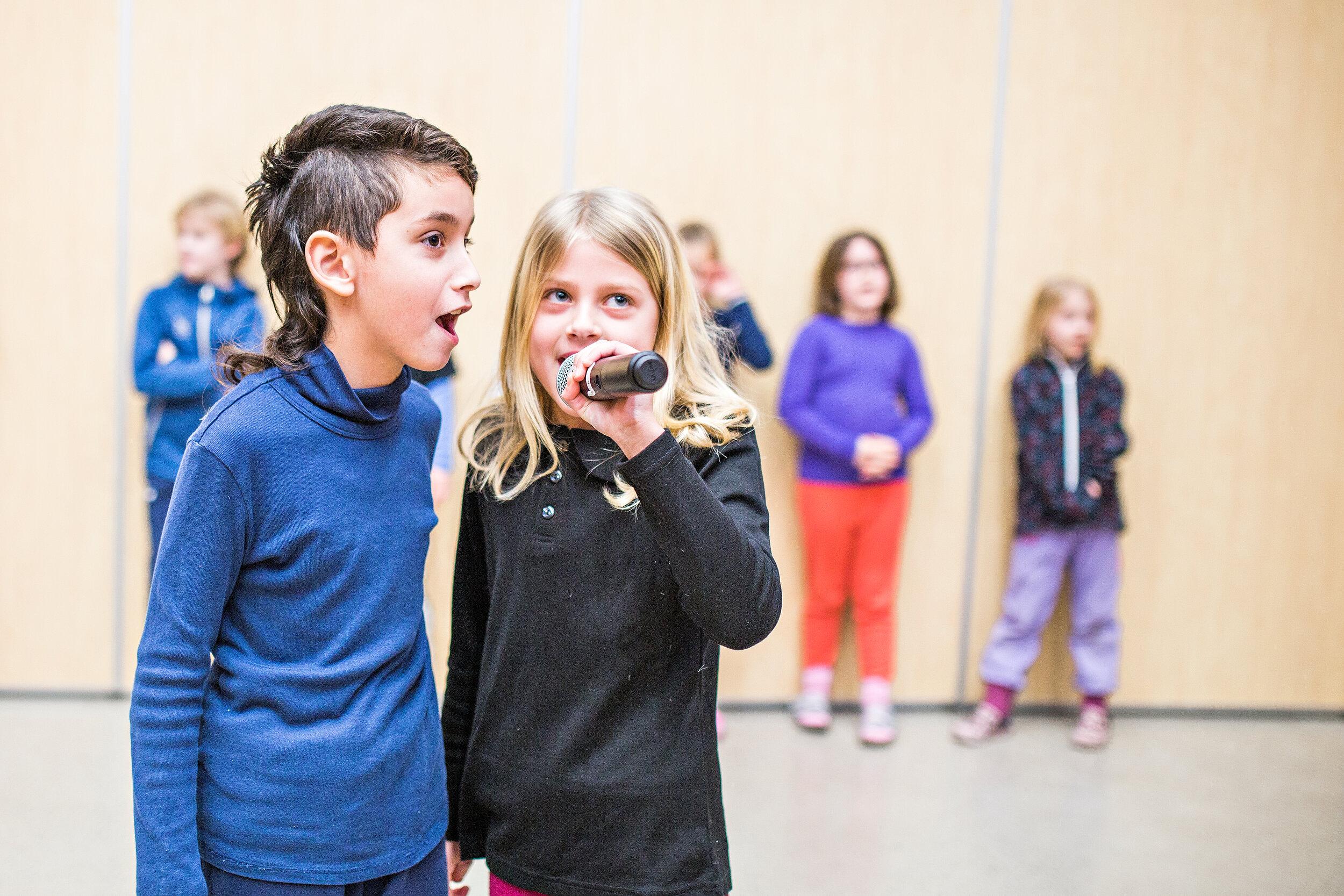 Syngende skole - For dere som vil synge litt mer