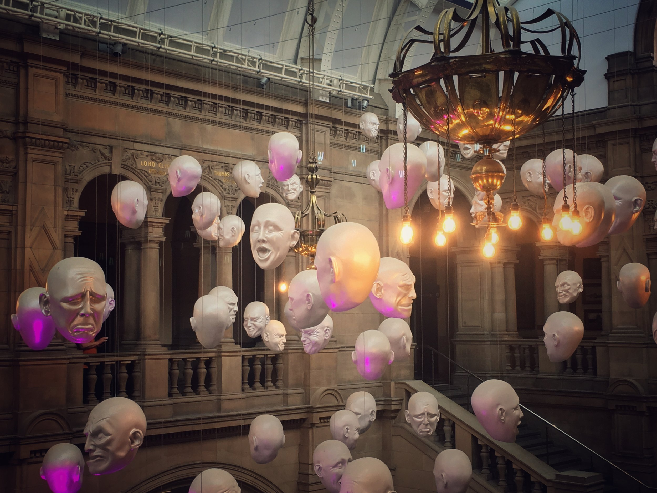 Accurate depiction of whats happening in my head. From the Kelvingrove Museum, Glasgow Scotland
