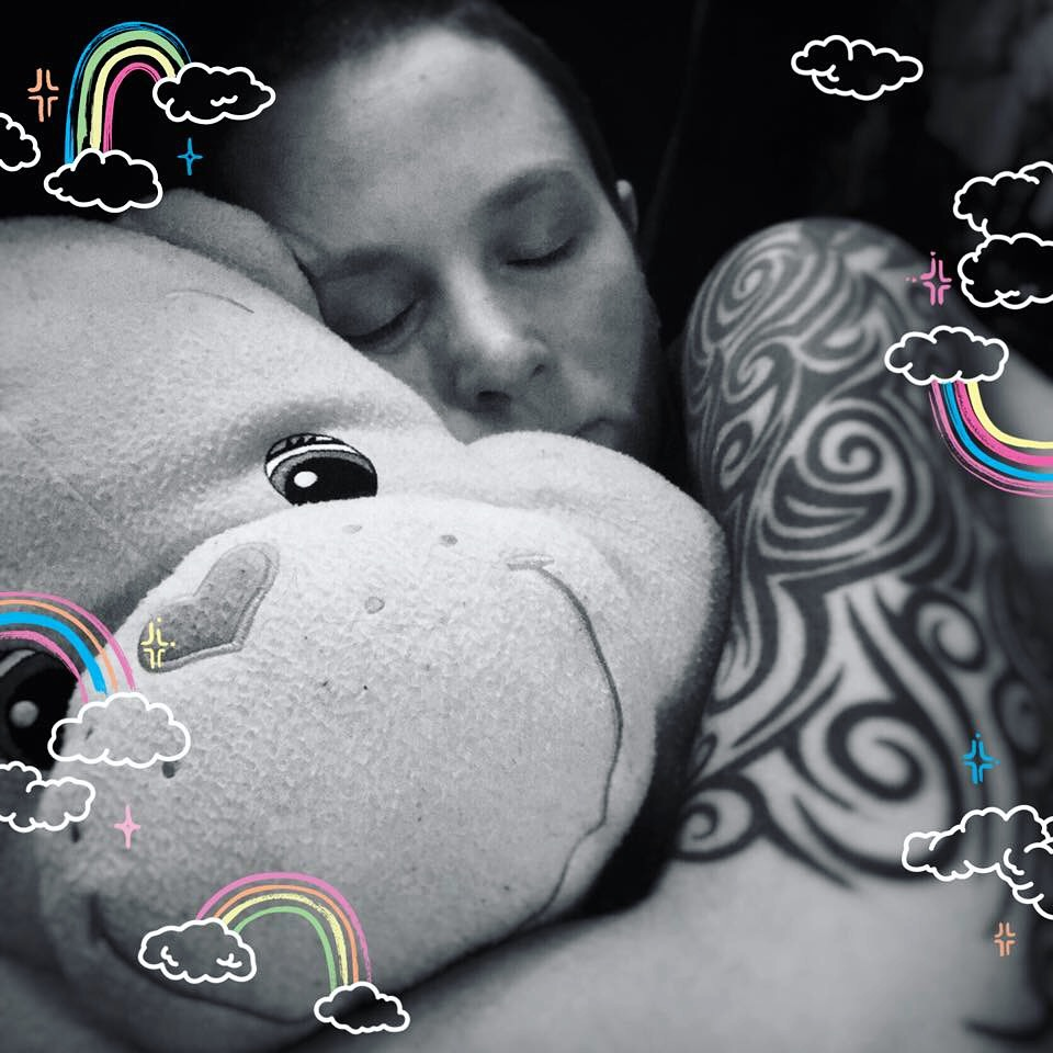 Cheer Bear is all cuddles and no lies