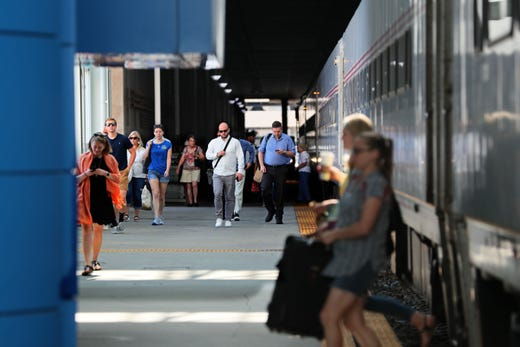 Amtrak Hiawatha plans to increase the number of Milwaukee-Chicago round trips from seven to 10 in the next five years. -