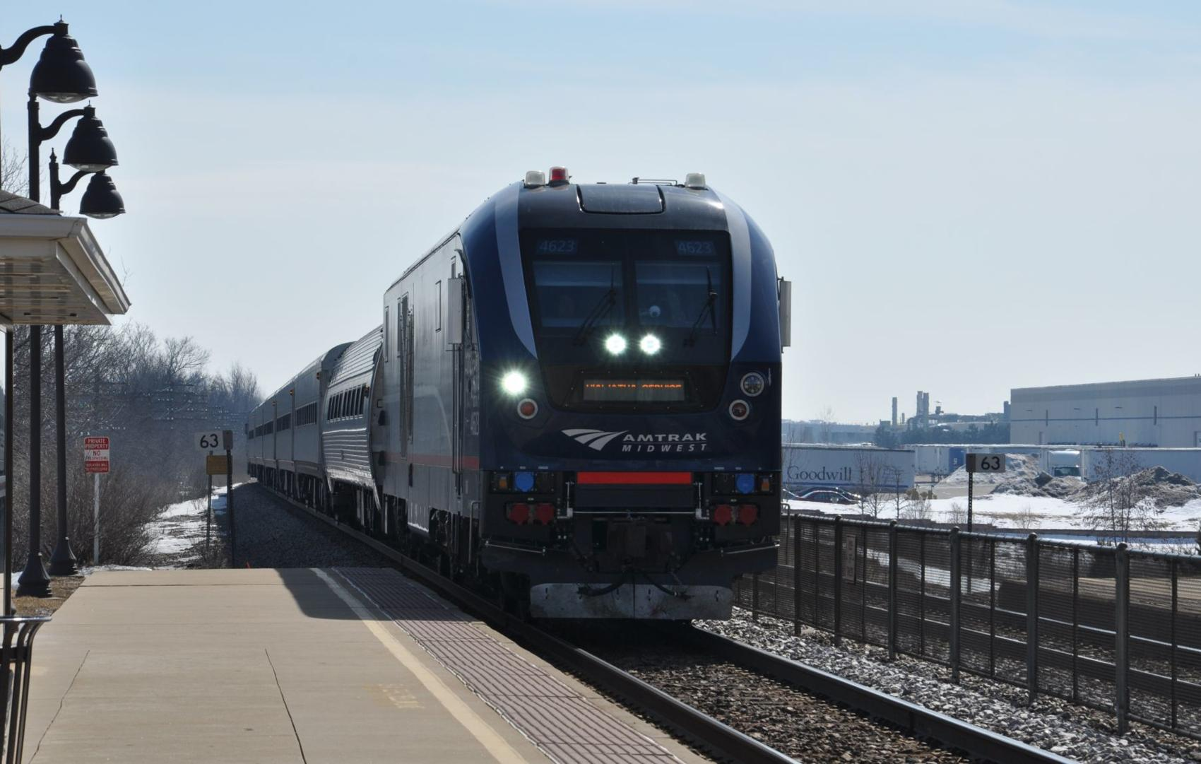 The potential increase in train frequency along the Amtrak Hiawatha line could have a big impact for Racine area riders and business. -
