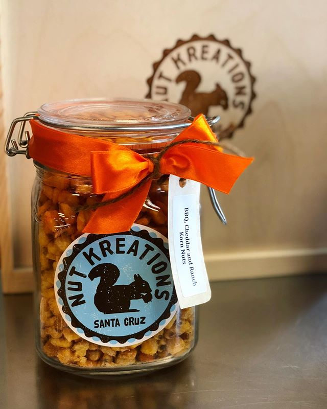 Fill a jar with your own perfect mix.😋 In this case, that's BBQ, Cheddar, and Ranch Korn Nuts. What would you fill your jar with?!👌❤️ #AllThingsGood #Perfection #GiftIdeas