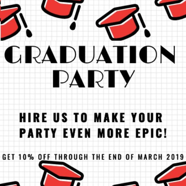 Book from now through the end of March 2019 for your graduation party to receive 10% off. • • • • • #highschoolgraduation #highschoolgraduationparty #graduation #graduationday #graduationgift #graduationparty #graduations #graduationpictures #graduation2019 #graduationcap #graduationparty #graduationgift #graduationphoto #graduationideas #GraduationCeremony #graduationgifts #graduationcake #graduationphotos #graduationflower #Kennedale #Mansfield #Arlington #FortWorth #Dallas #GraduationPhotoCamper #photobooth #GraduationPhotobooth #graduationcelebration #graduationphotography