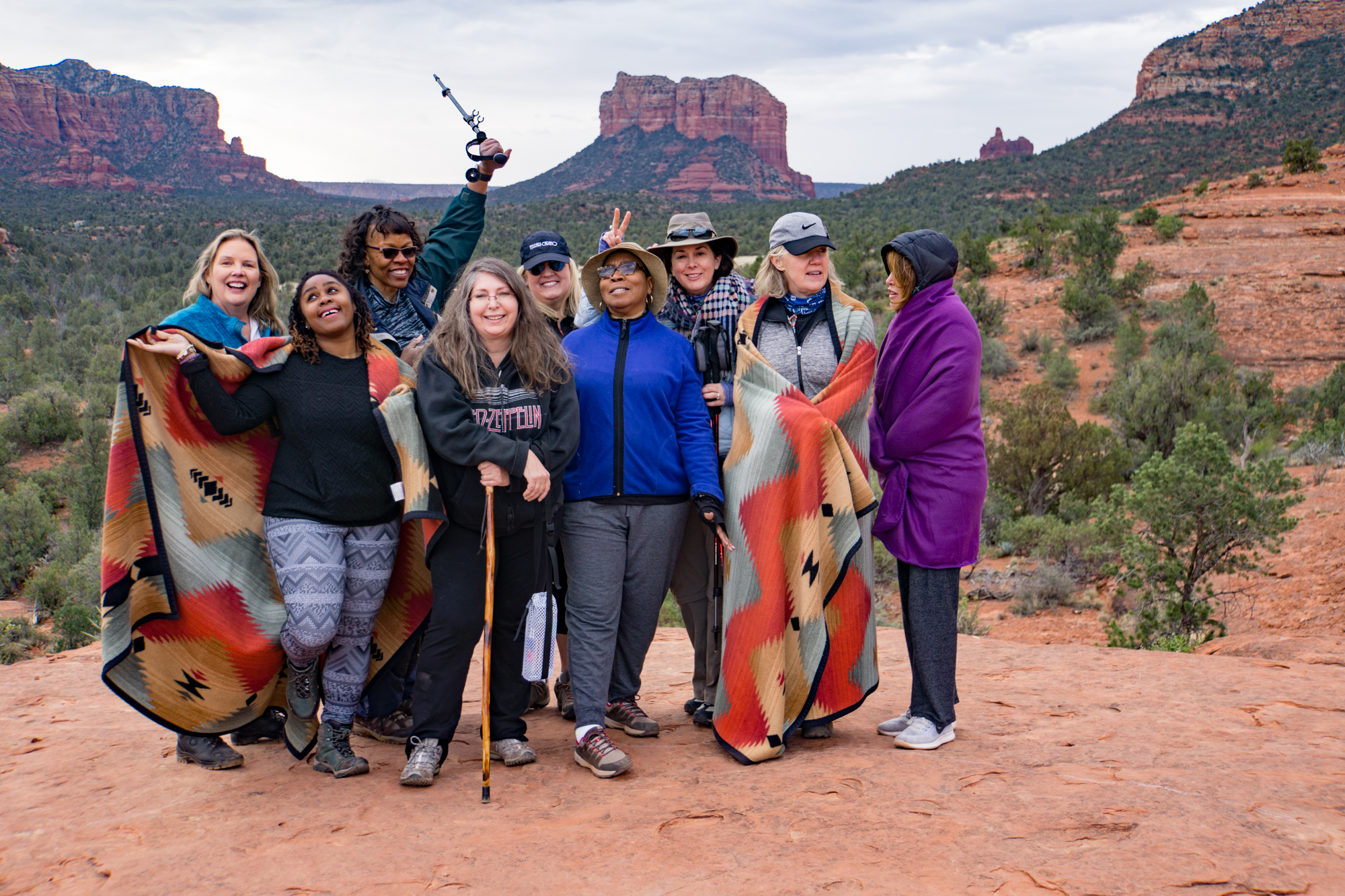 3rd Annual Awakening Hope Retreat in Sedona Arizona - Healthy Living With Hope - Hope's Yoga designed and lead by Hope Knosher
