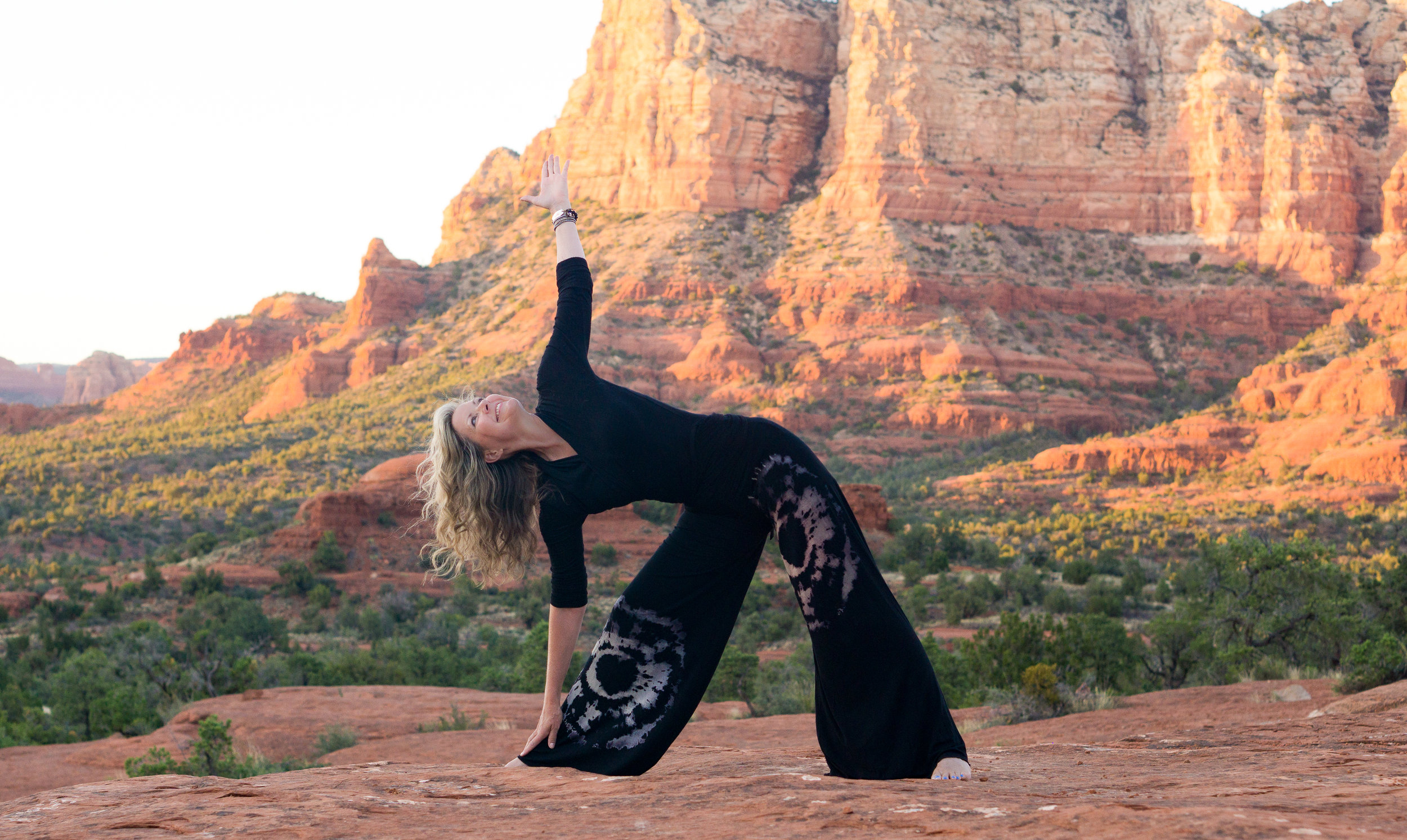 Hope Knosher-Hope's Yoga-Health Living With Hope-Sedona Arizona-Awakening Hope Retreat Yoga Hiking and Healing in Sedona