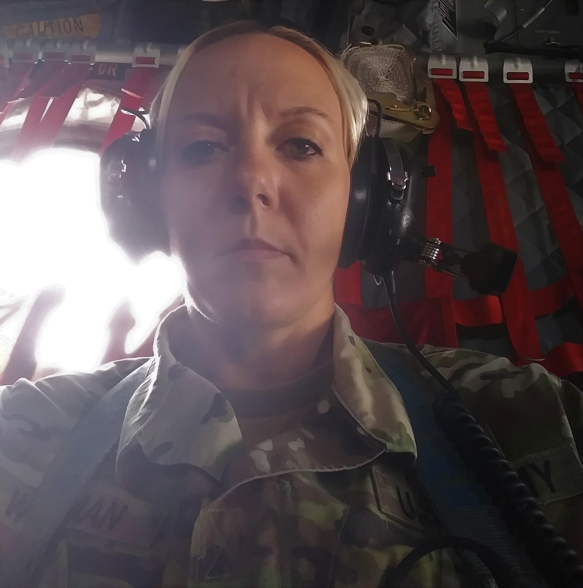 Jen Clark Workman, Combat Medic, United States Army