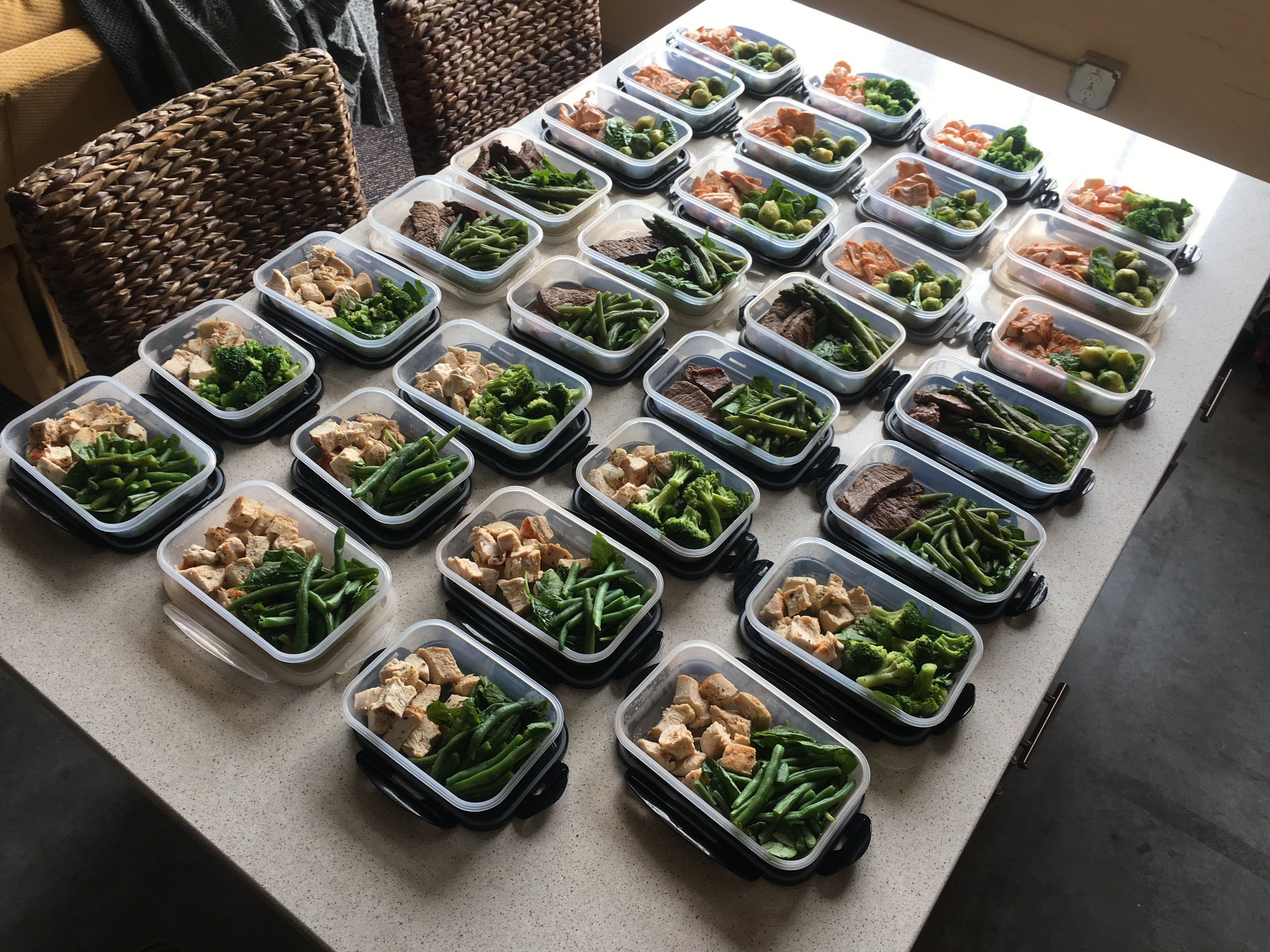31 MEALS in under TWO HOURS!