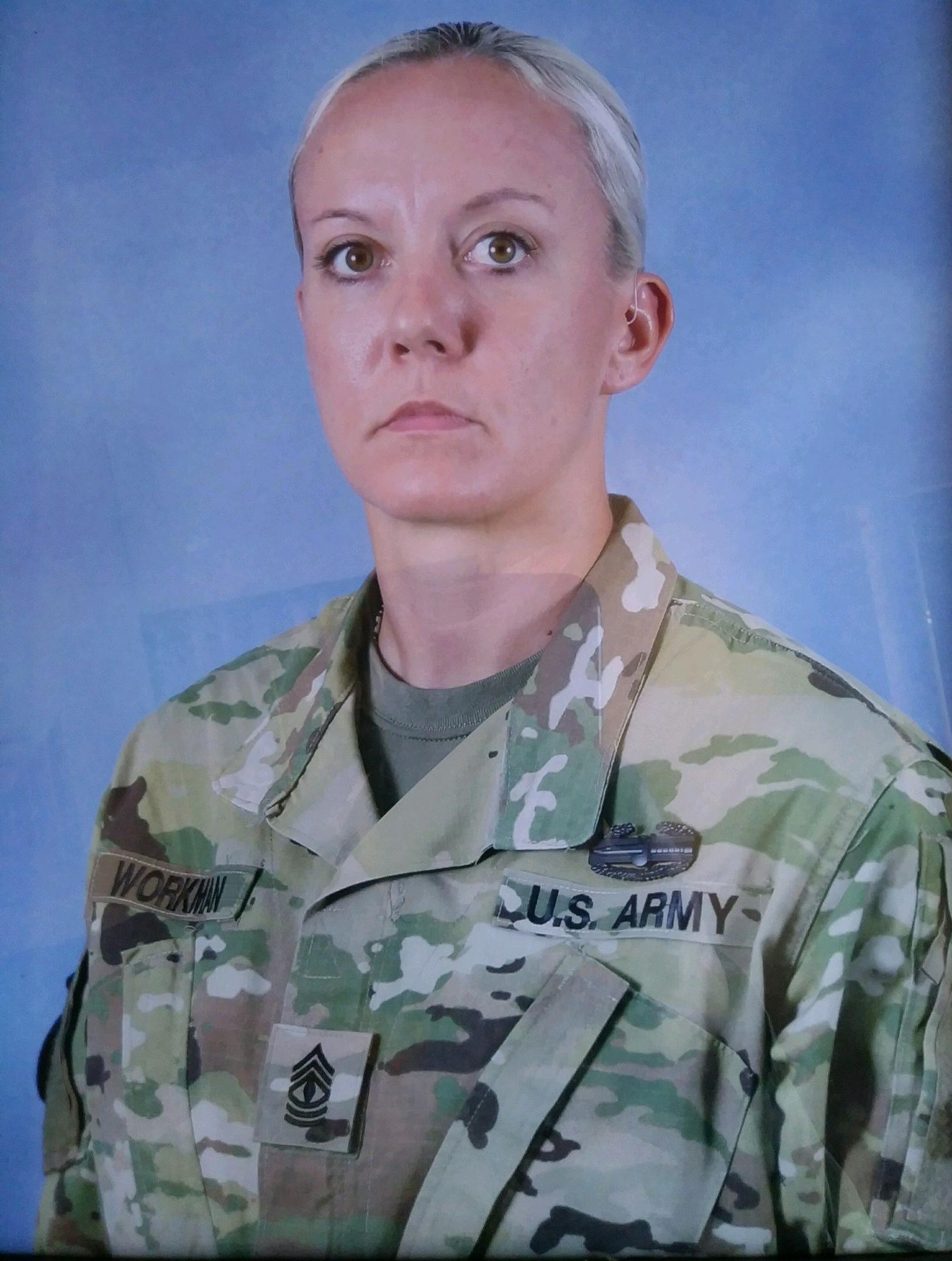 Jen Clark, U.S. Army