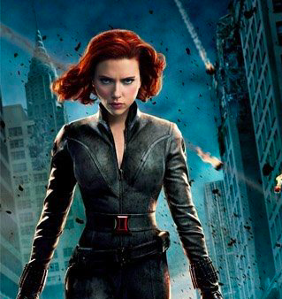 But… LOST 107-Pounds in one-year Brianna?She's the Freakin' BLACK WIDOW. -