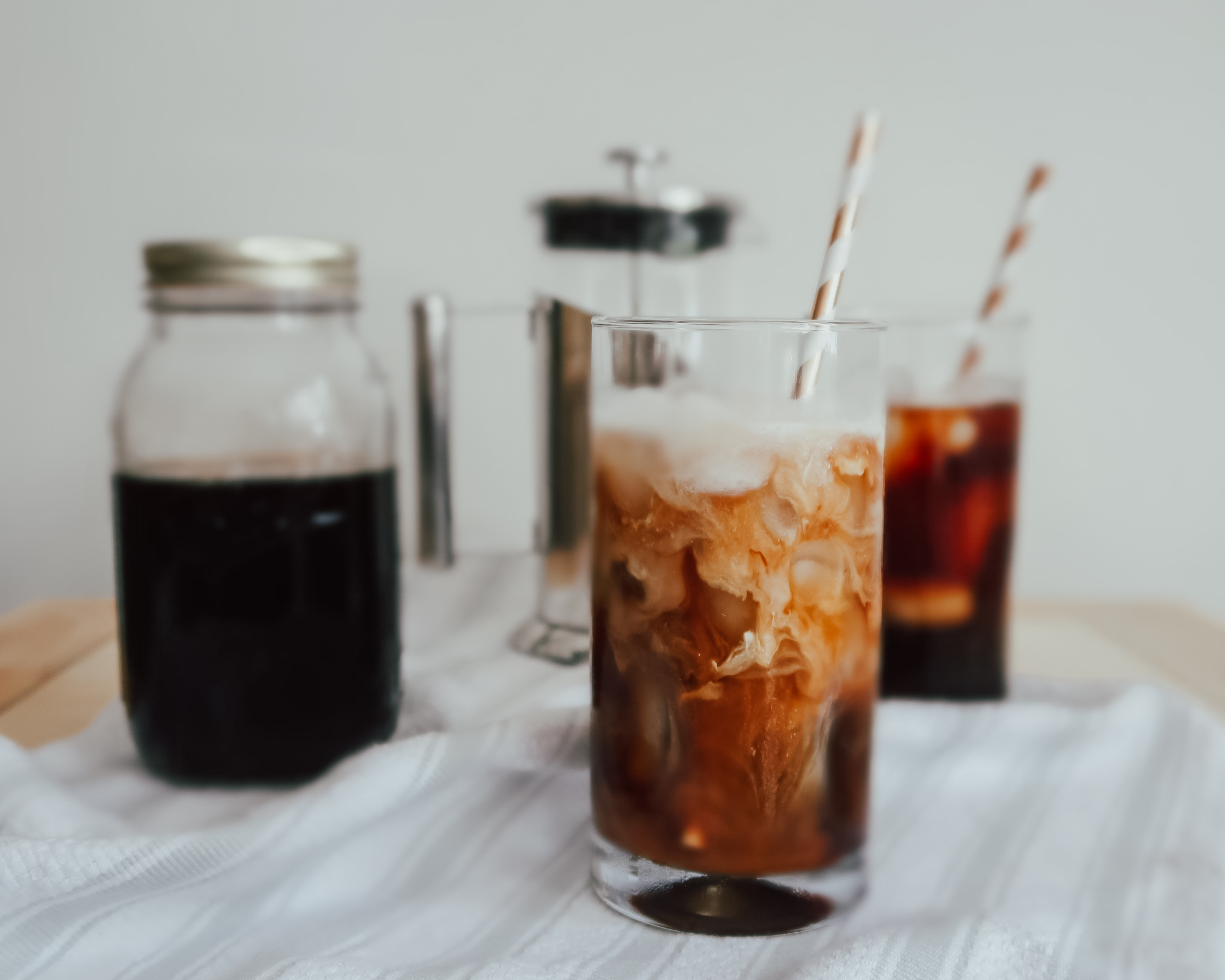 French Press Cold Brew Coffee Concentrate Blog Sam And Nate