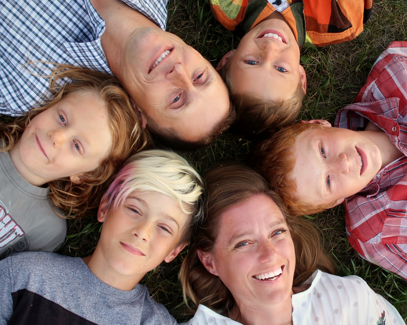 Our family - Happiness is a Circle or Semi Circle in our case.