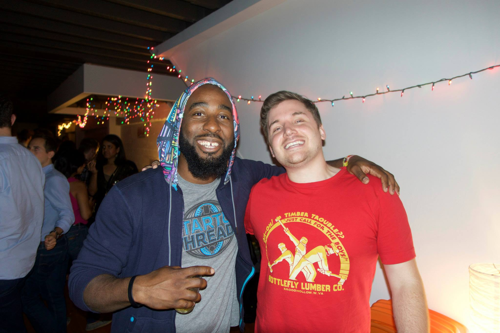 Fun times with Walker Williams, other Teespring Co-founder. One of the few who could understand.