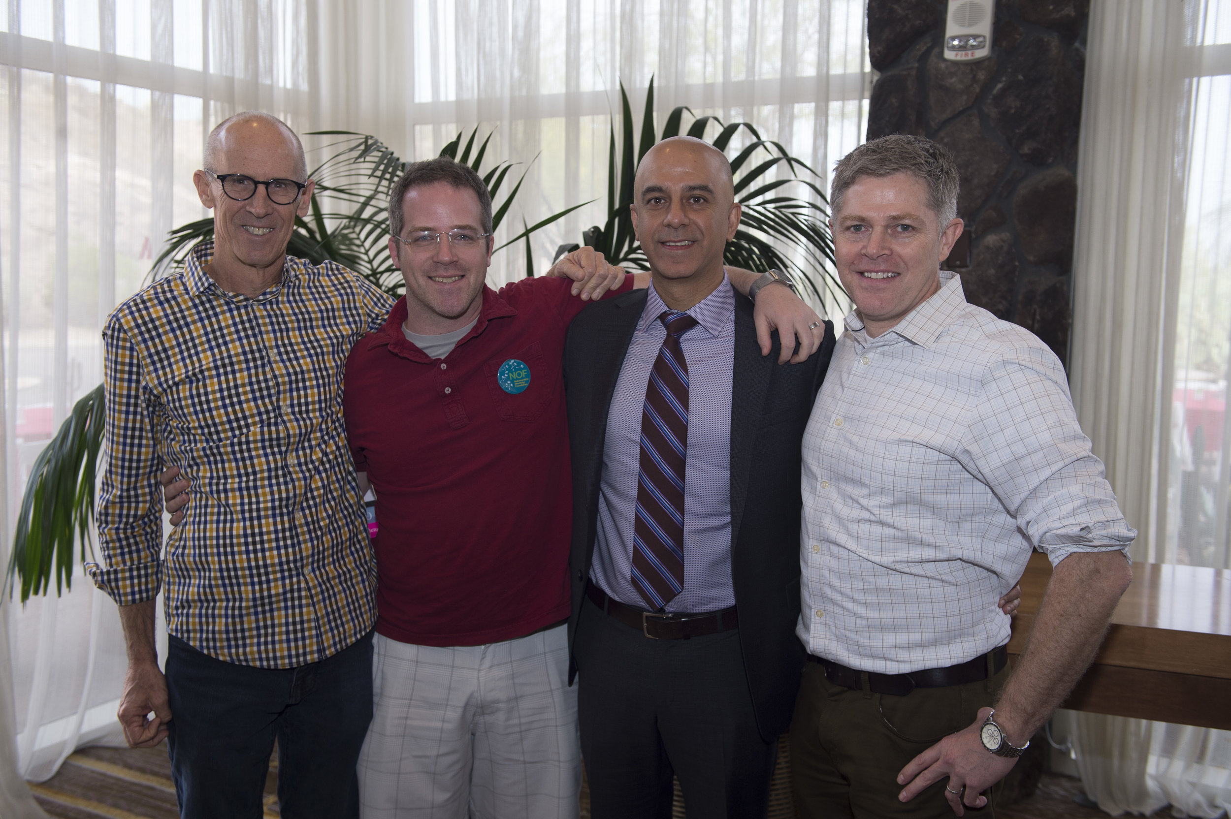 OncANP Residency Committee responsible for the OncANP Residency Toolkit   (L to R: Michael Traub, ND, DHANP, FABNO; Dave Allerdice, ND, FABNO; Gurdev Parmar, ND, FABNO; Chad Aschtgen, ND, FABNO  ~  Not Pictured: Dan Lander, ND, FABNO