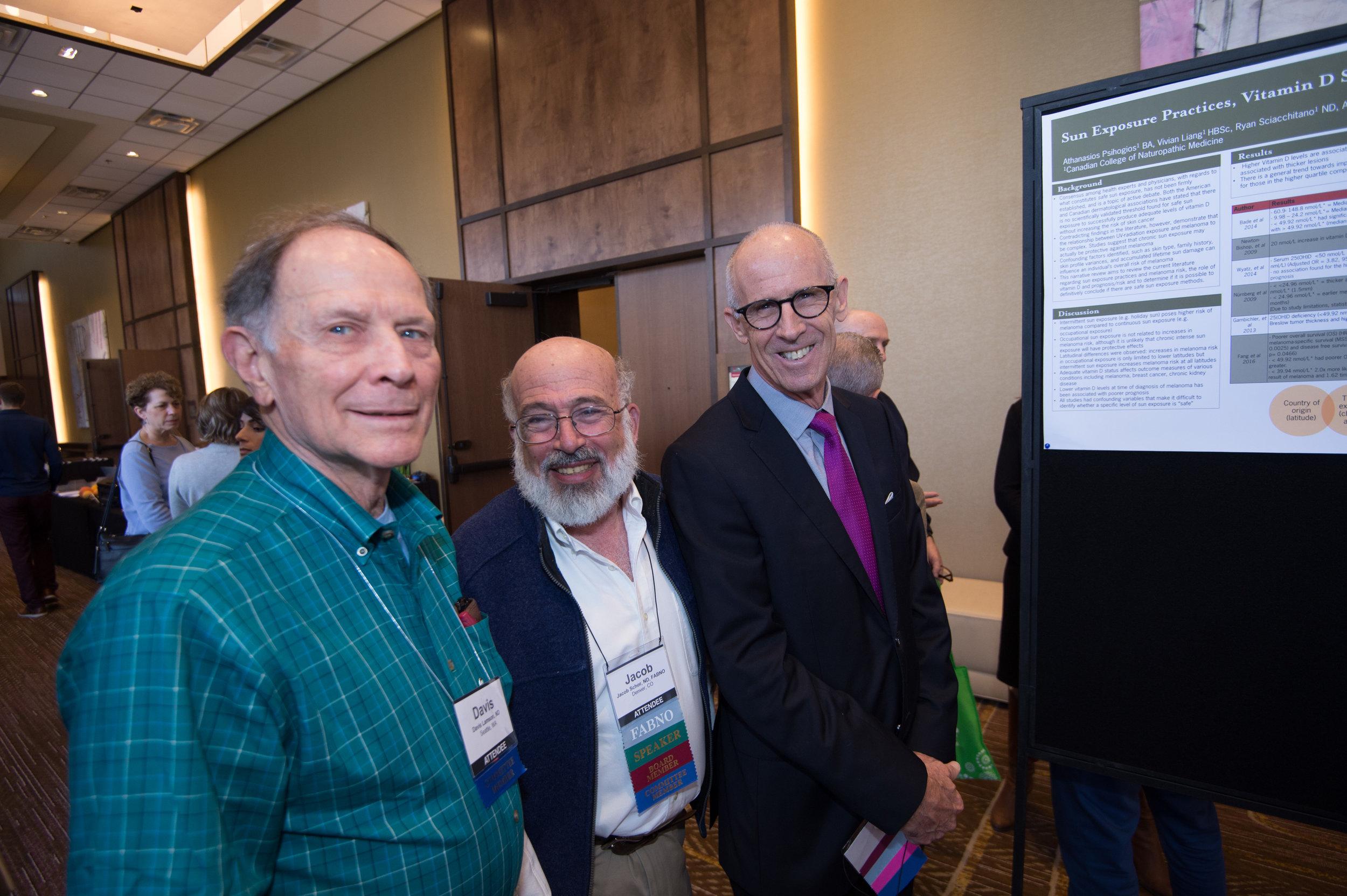 Longtime OncANP Members: Davis Lamson, Jacob Schor and Michael Traub