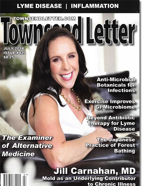 ON THE COVER;  Jill Carnahan, MD