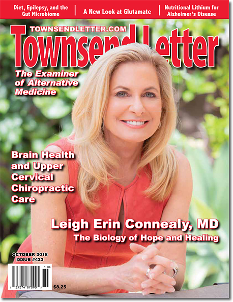 ON THE COVER:   Leigh Erin Connealy, MD