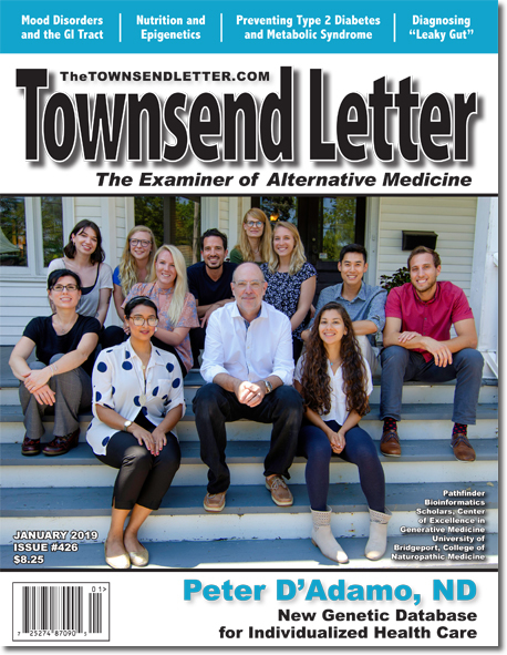 FROM THE COVER:   Pathfinder Bioinformatics Scholars at the Center of Excellence in Generative Medicine, Univ. of Bridgeport