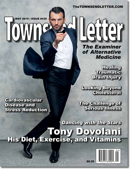 ON THE COVER:   Tony Dovolani
