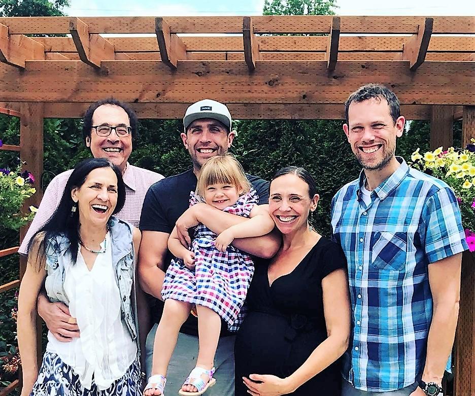 Jonathan Collin, MD, and family