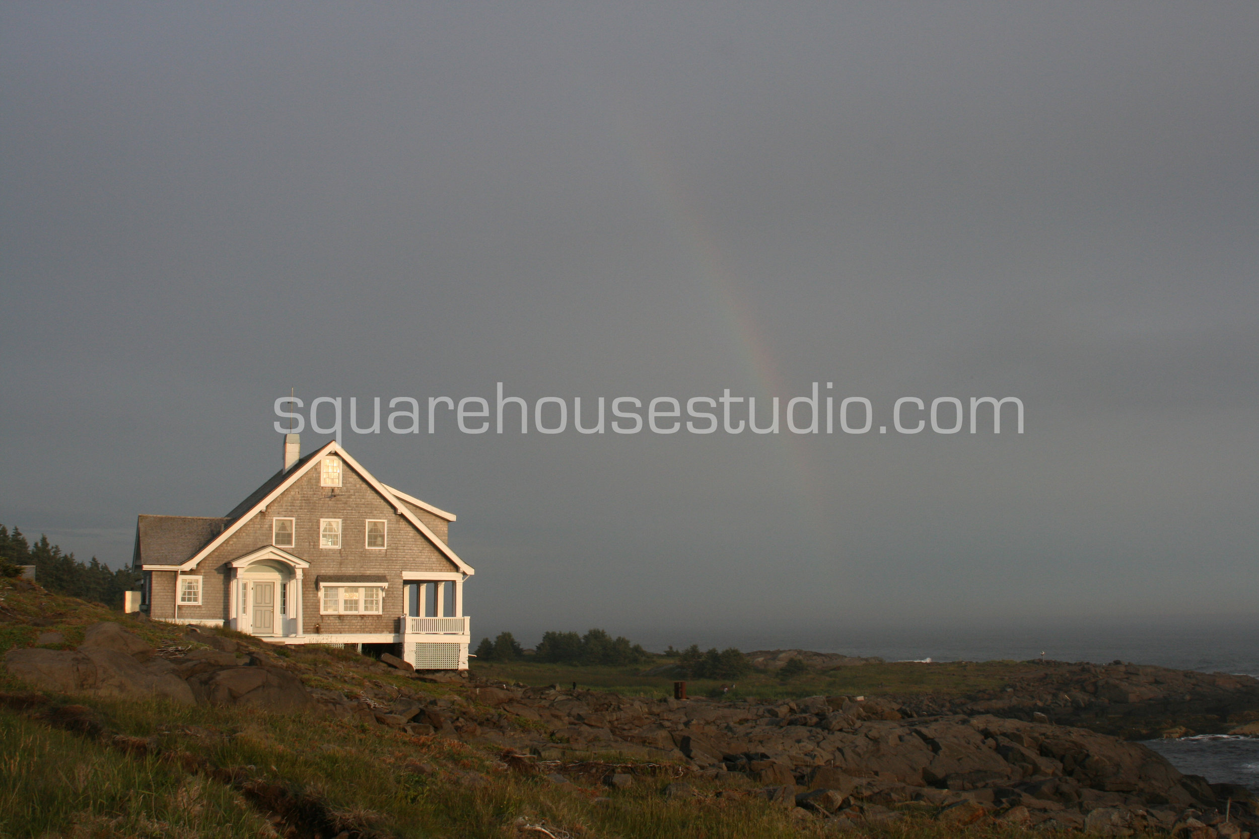 "Monhegan Rainbow , 8"" x 10,"" $50, Unframed photo"