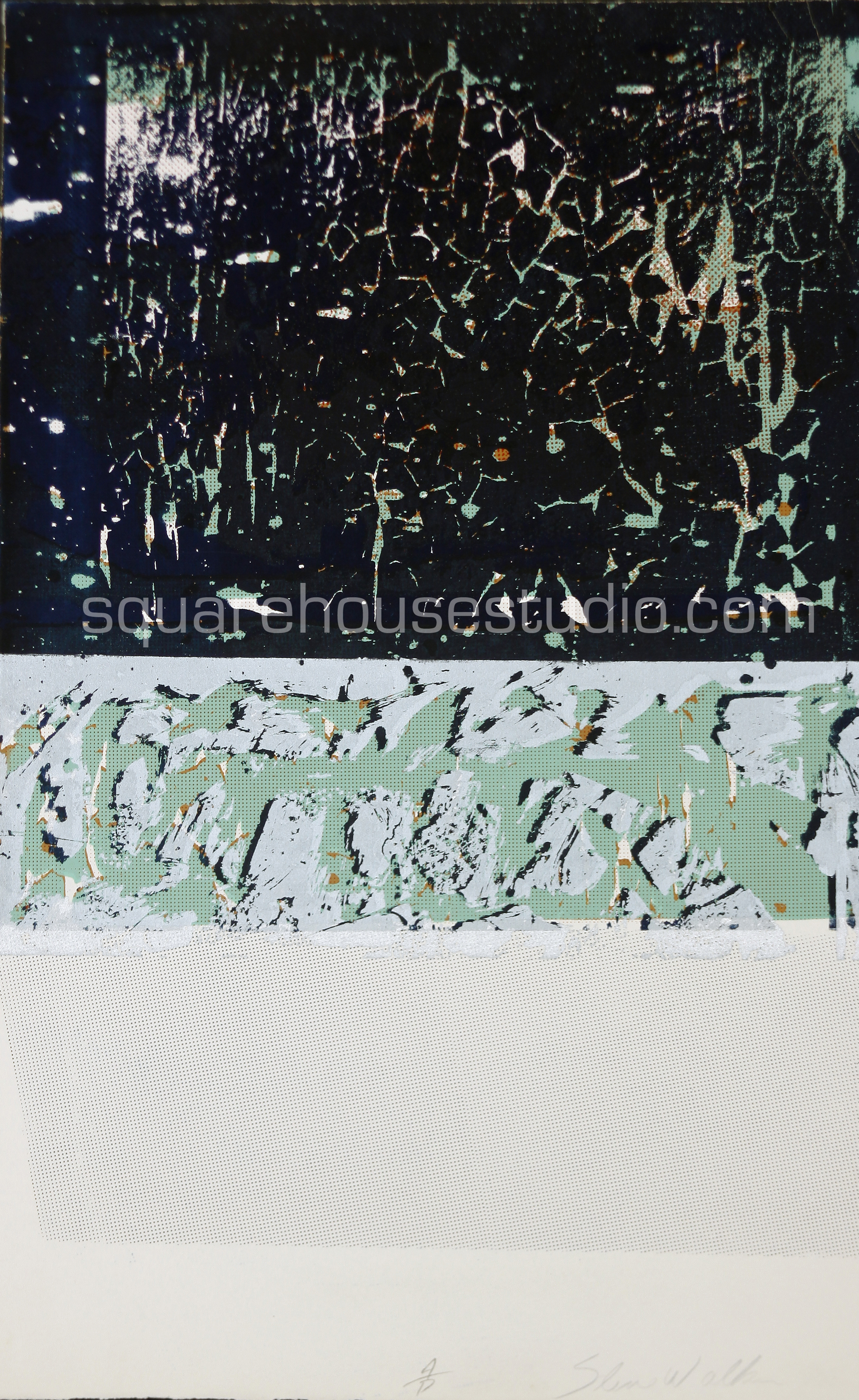 "Starry Night , 22"" x 32,"" original edition, $625 framed / $475 unframed, Available as giclée print—$450 framed / $300 unframed"