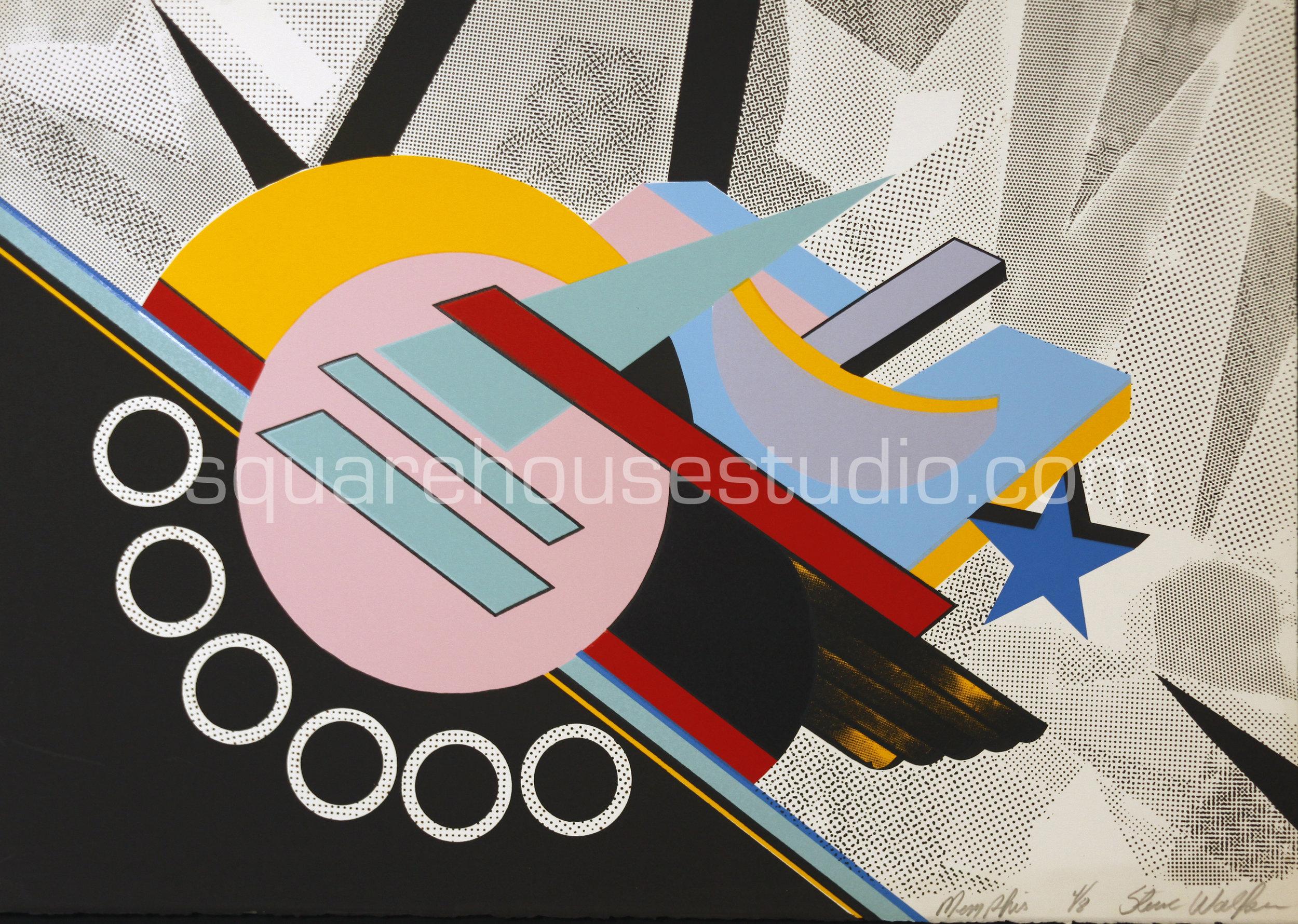 "Memphis , 22"" x 32,"" original edition, $625 framed / $475 unframed, Available as giclée print—$450 framed / $300 unframed"