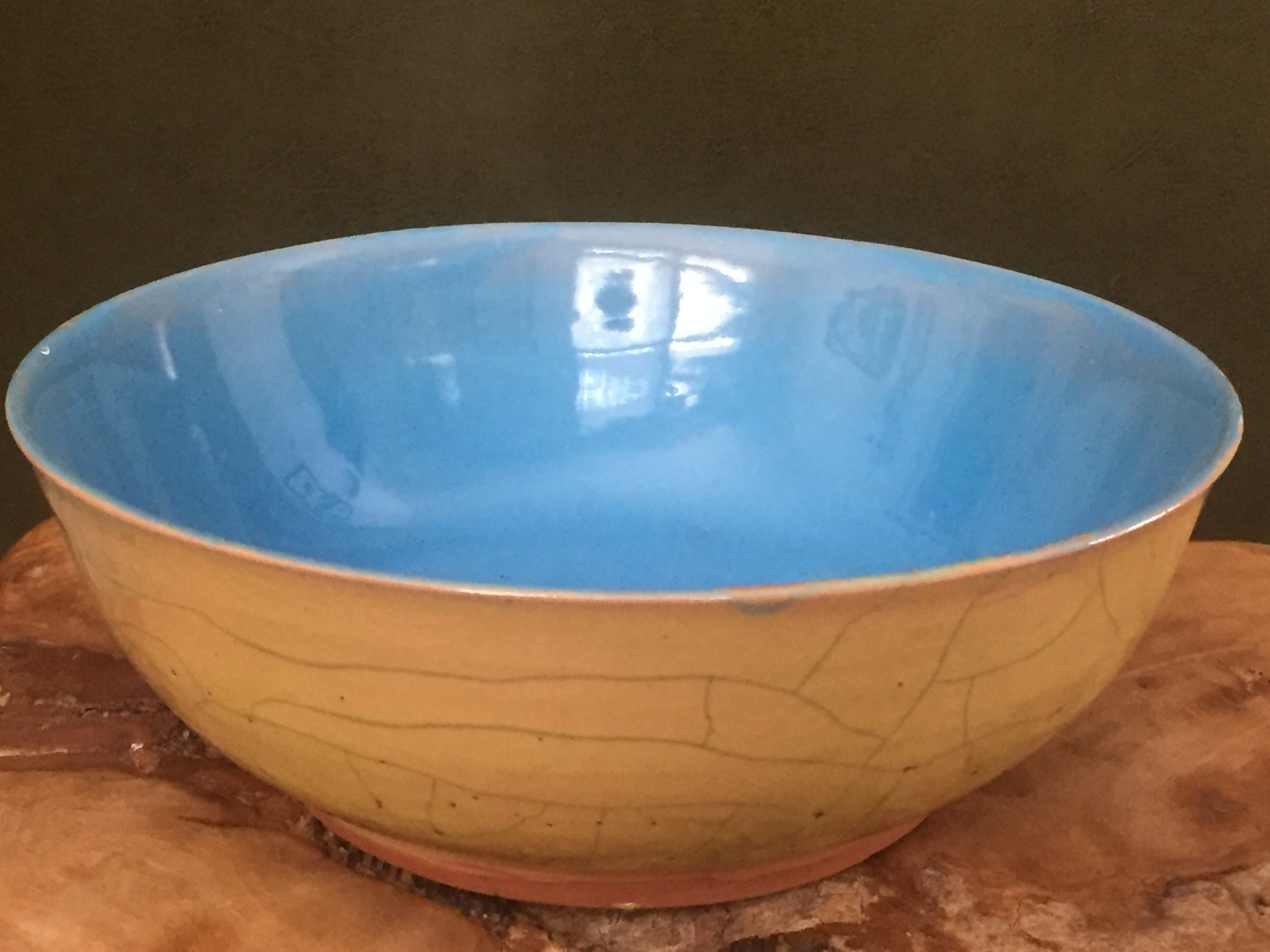 Blue Makes Sense ; 7 inch bowl; NFS
