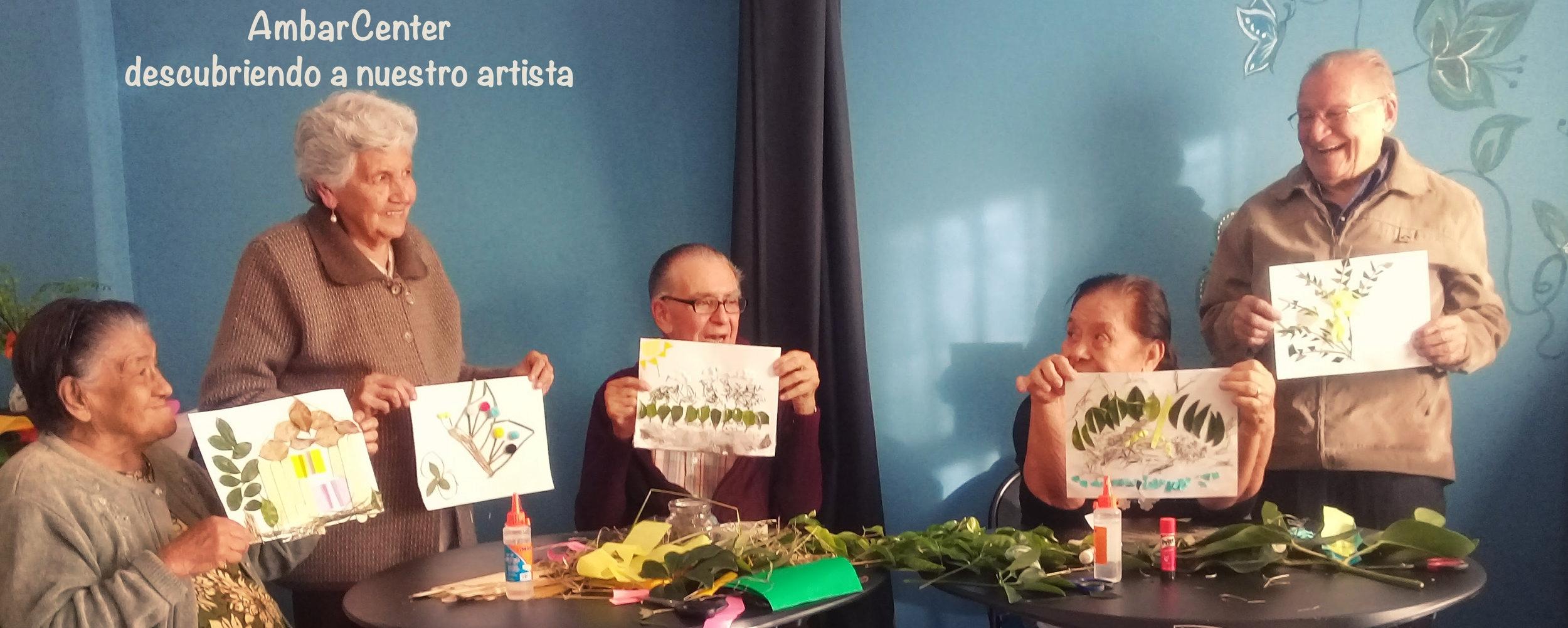 Un centro de día que ayuda a los mayores a descubrirse artístas…