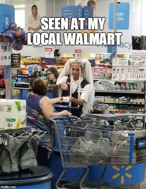 I got nothing against Walmart, I swear -