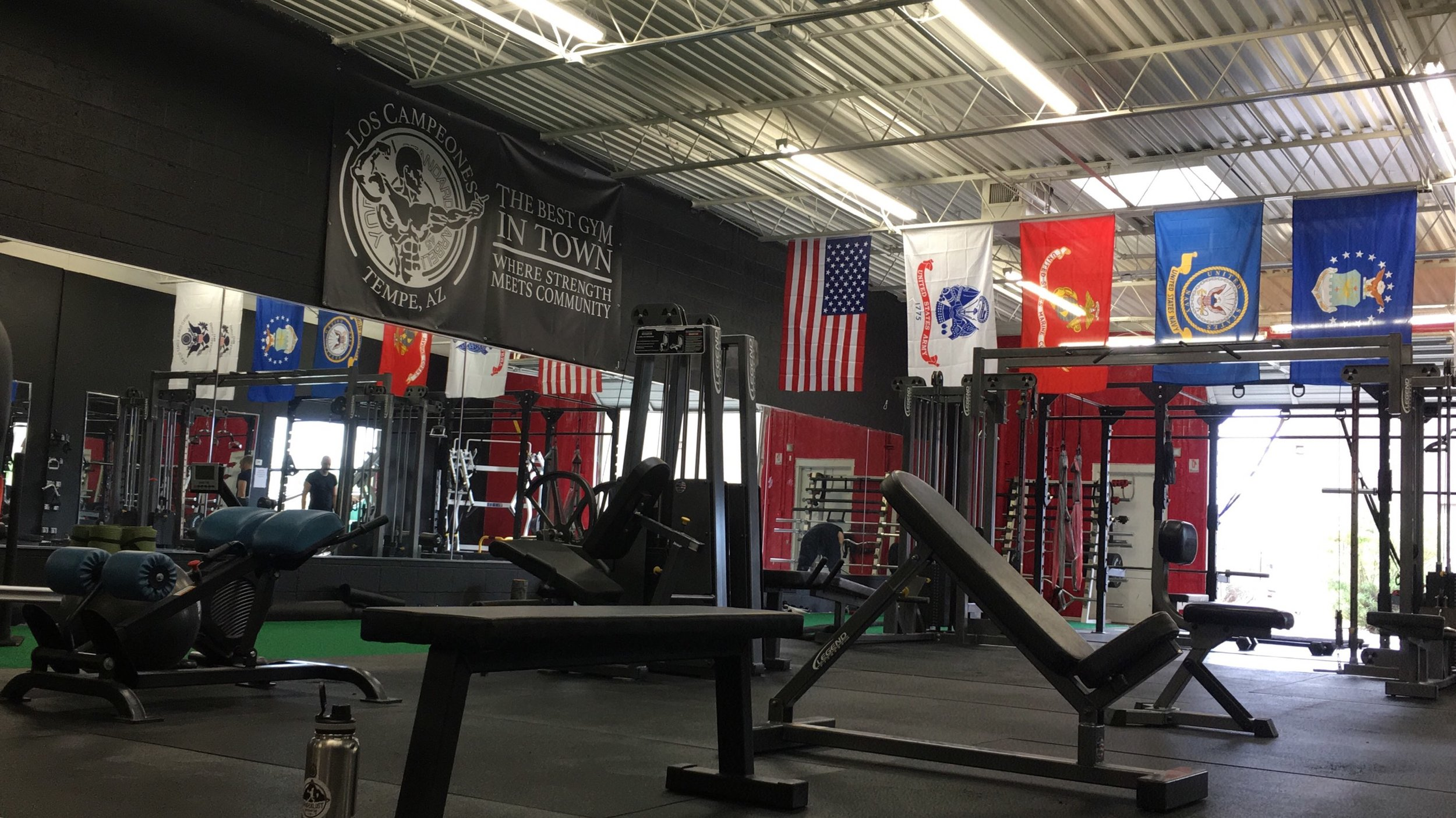 The Studio - We train out of Los Campeones (2153 E Cedar Street, Tempe AZ) a boutique studio dedicated for trainers. We train from Monday to Thursday in the evening, sessions start from 5 pm - 6pm, 6pm - 7pm and 8 pm to 9 pm. Bonus class on Saturday 9 am and sometimes we do workshop for weight loss.